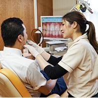 歯科医院は女性の職場です